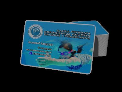 Wizytówki || karty biznesowe, wizytówki klasyczne, lakierowane wybiórczo